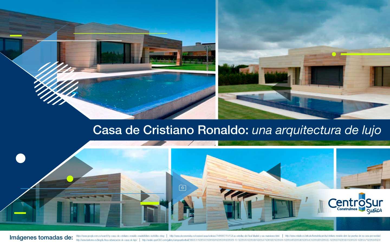 Casa de Cristiano Ronaldo: una arquitectura de lujo
