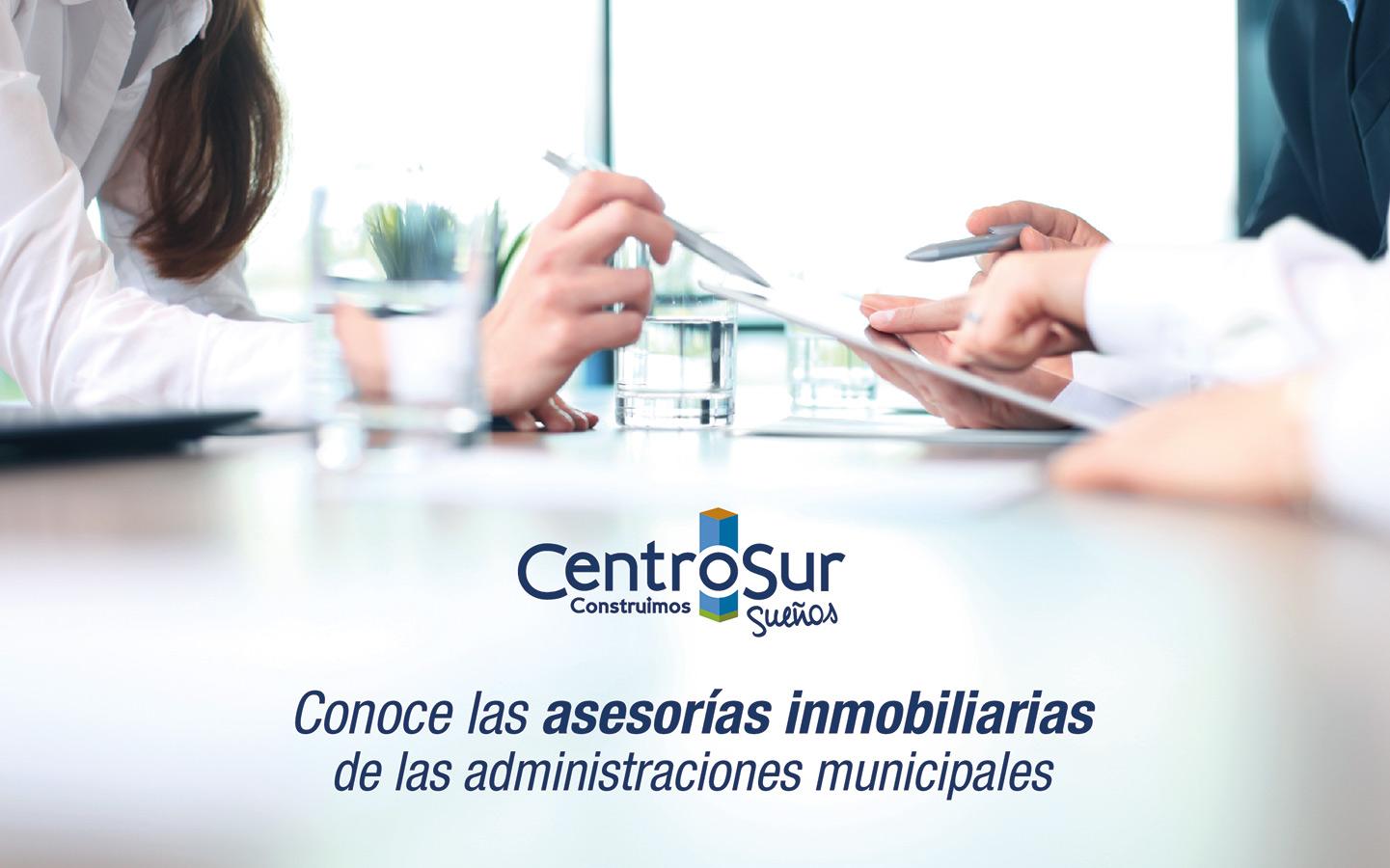 CONOCE LAS ASESORÍAS INMOBILIARIAS DE LAS ADMINISTRACIONES MUNICIPALES