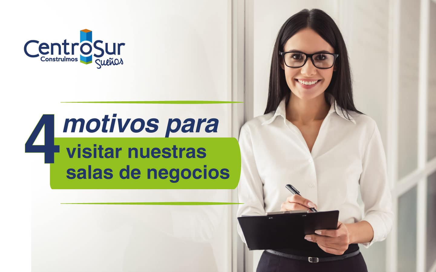4 motivos para visitar las salas de negocios de los proyectos inmobiliarios Centro Sur
