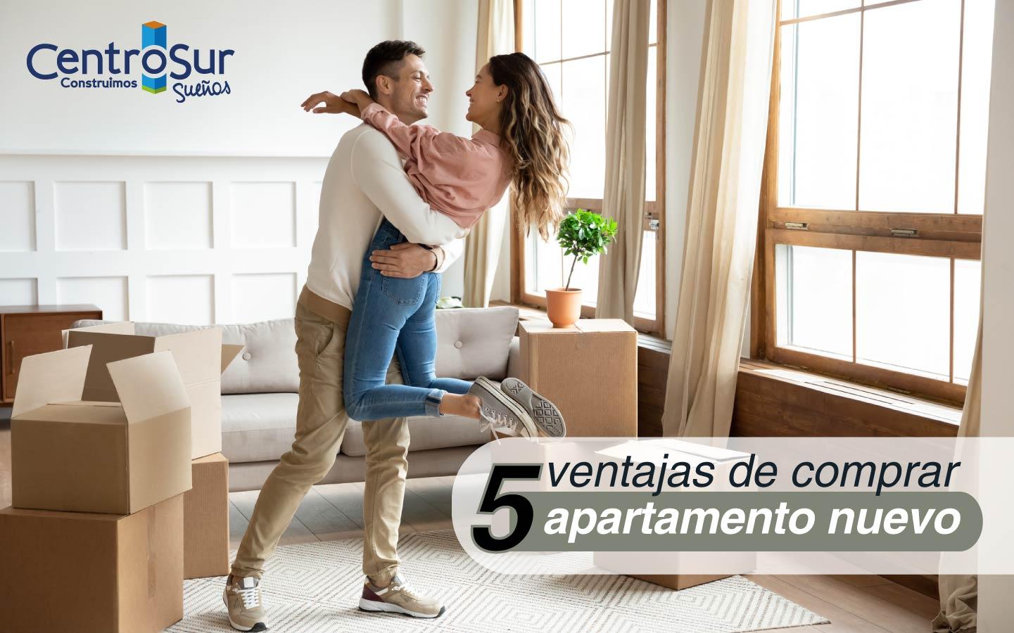 5 ventajas de comprar apartamento nuevo
