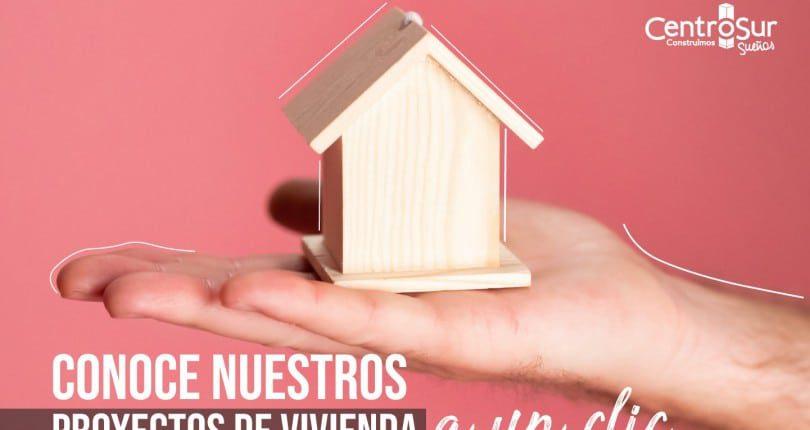 Compra vivienda en Centro Sur, diversos proyectos inmobiliarios a tu medida.